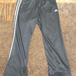 アディダス(adidas)のadidas ジャージ 2XO 黒 メンズ パンツ 3本ライン(デニム/ジーンズ)