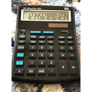 hp 電卓 office calc 200 デザイン電卓 レトロ電卓
