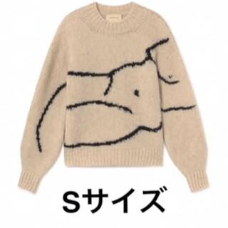 エディットフォールル(EDIT.FOR LULU)の希少品 paloma wool パロマウール Palmira ニット Sサイズ(ニット/セーター)