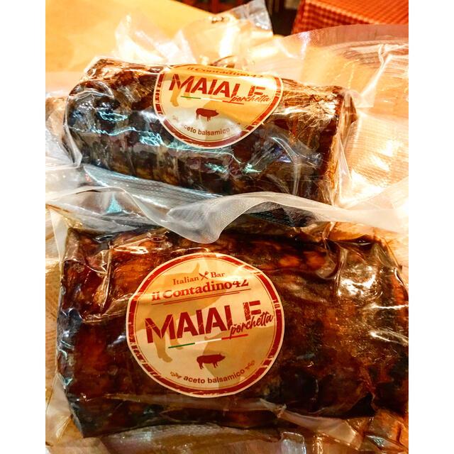 アリちゃん様専用 豚肩ロースのしっとりバルサミコチャーシュー 300g 食品/飲料/酒の加工食品(その他)の商品写真