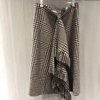 バレンシアガ(Balenciaga)のBalenciagaバレンシアガ スカート FR34(ひざ丈スカート)