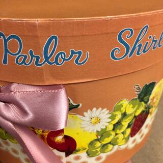シャーリーテンプル(Shirley Temple)のシャーリーテンプル  限定 グッズ ノベルティ 帽子箱 フルーツ  オレンジ(ノベルティグッズ)