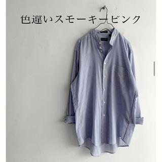 ディオール(Dior)のmericca購入 Diorストライプリメイクシャツ(シャツ/ブラウス(長袖/七分))