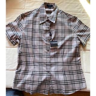 バーバリー(BURBERRY)のBurberry 半袖カッターシャツ(シャツ/ブラウス(半袖/袖なし))