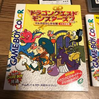 ゲームボーイ(ゲームボーイ)のゲームボーイカラー ドラゴンクエストモンスターズ2マルタのふしぎな鍵 イルの冒険(家庭用ゲームソフト)
