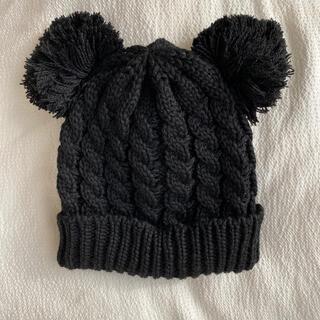 ザラキッズ(ZARA KIDS)のキッズ ニット帽 ブラック 新品(帽子)