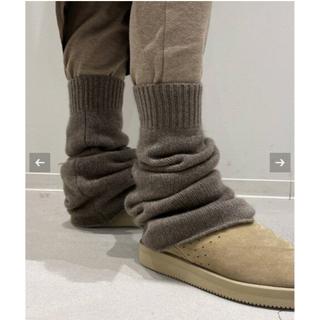 ドゥーズィエムクラス(DEUXIEME CLASSE)の専用新品 Deuxieme Classe CARIAGGI LEG WARMER(レッグウォーマー)