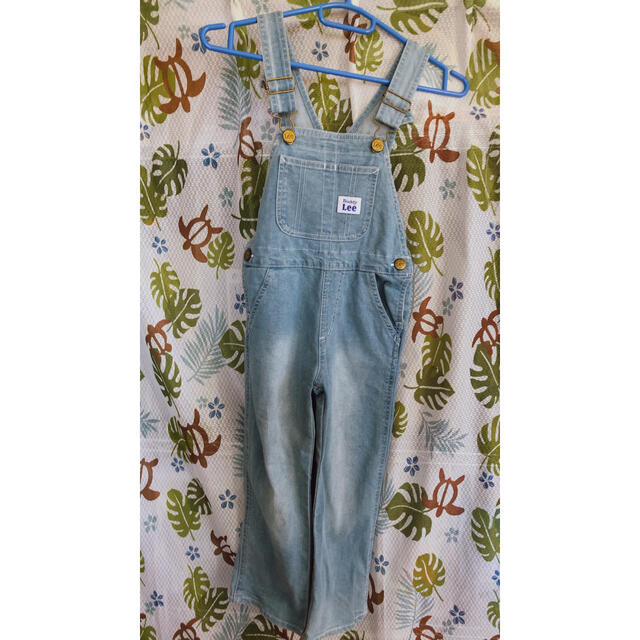 Lee(リー)のオーバーオール キッズ/ベビー/マタニティのキッズ服男の子用(90cm~)(パンツ/スパッツ)の商品写真