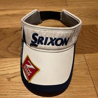 スリクソン(Srixon)のゴルフ サンバイザー(サンバイザー)
