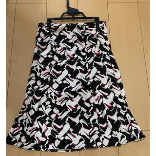 クードシャンス(COUP DE CHANCE)のクードシャンス☆柄スカート(ひざ丈スカート)