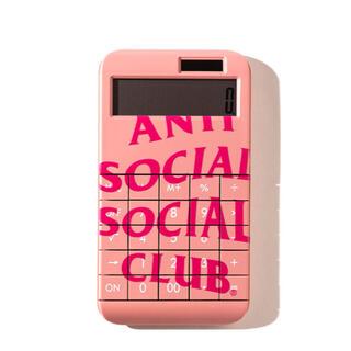 ANTI SOCIAL SOCIAL CLUB 電卓