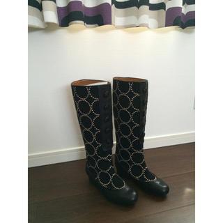 ミナペルホネン(mina perhonen)のブーツ(ブーツ)