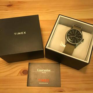 タイメックス(TIMEX)の【週末値下】TIMEX  MK1 アルミニウム TW2T10300(腕時計(アナログ))