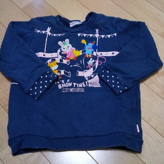 ミキハウス(mikihouse)のみっきー様専用 ミキハウス トレーナー 110(Tシャツ/カットソー)