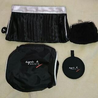 アニエスベー(agnes b.)のアニエスベーポーチ、ポーチ、がま財布、手鏡4点セット(ポーチ)