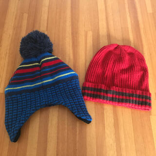 ユニクロ(UNIQLO)のユニクロ GU キッズニット帽(帽子)