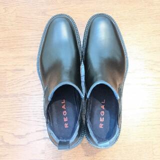リーガル(REGAL)のREGAL サイドゴアレインブーツ ブラック(長靴/レインシューズ)