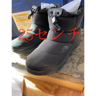 ザノースフェイス(THE NORTH FACE)のノースフェイス  ヌプシブーティーウォータープルーフ ショート 25センチ(ブーツ)