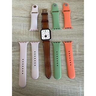 アップルウォッチ(Apple Watch)のApple Watch Series 4(GPSモデル)(腕時計(デジタル))