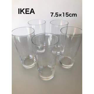 イケア(IKEA)のIKEA グラス 5個セット(グラス/カップ)