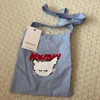 ホリデイ(holiday)の完売 NEKO MINI SHOULDER BAG ネコミニショルダーバッグ(ショルダーバッグ)