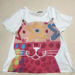 フラボア(FRAPBOIS)のフラボア ねこ Tシャツ(Tシャツ(半袖/袖なし))