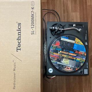 パナソニック(Panasonic)のTechnicsSL-1200MK3D DrSuzukiスリップマット付き(ターンテーブル)