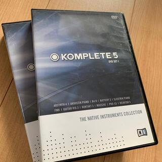Native Instruments / KOMPLETE 5(ソフトウェア音源)