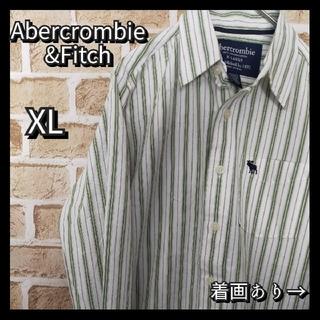 アバクロンビーアンドフィッチ(Abercrombie&Fitch)の[匿名配送]Abercrombie長袖シャツ XLサイズ ユニセックス(シャツ/ブラウス(長袖/七分))