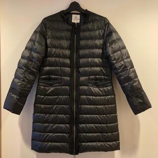 ランバンオンブルー(LANVIN en Bleu)のランバンオンブルー   ダウン コート  38サイズ ブラック(ダウンコート)