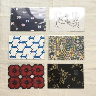 ミナペルホネン(mina perhonen)のミナペルホネン ポストカード 6枚セット(写真/ポストカード)