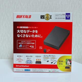 Buffalo - 外付けHDD 4TB