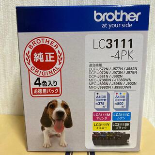 brother - ブラザー純正 インクカートリッジ4色パック LC3111-4PK