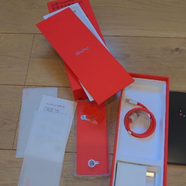 oneplus 7t 256GB シルバー スマホ/家電/カメラのスマートフォン/携帯電話(スマートフォン本体)の商品写真