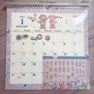 ダッフィー(ダッフィー)のダッフィー 壁掛けカレンダー 2021(カレンダー/スケジュール)