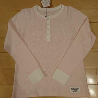 ワコマリア(WACKO MARIA)の新品 ワコマリア ヘンリーネック ピンク(Tシャツ/カットソー(七分/長袖))