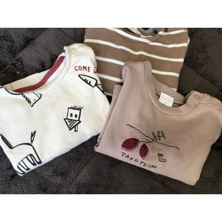 アカチャンホンポ(アカチャンホンポ)の長袖Tシャツ ロンᎢセット 80(Tシャツ)