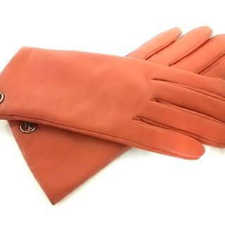 コーチ(COACH)のコーチ 手袋 17cm レディース新品同様 (手袋)