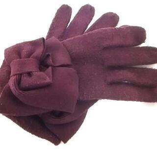 ケイトスペードニューヨーク(kate spade new york)のケイトスペード 手袋 レディース - リボン(手袋)