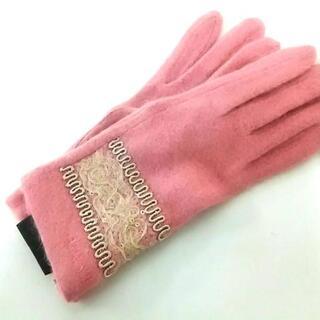 アナスイ(ANNA SUI)のアナスイ 手袋 レディース新品同様  ウール(手袋)