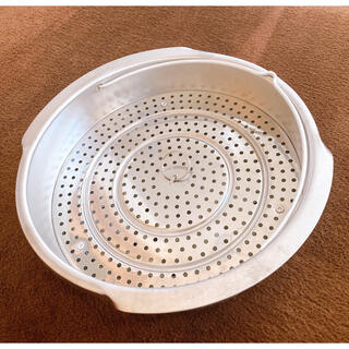 ティファール(T-fal)の未使用★T-fal ティファール 圧力鍋 中カゴ 蒸しカゴ(調理道具/製菓道具)