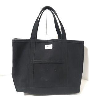 オーシバル(ORCIVAL)のオーシバル トートバッグ - 黒 キャンバス(トートバッグ)