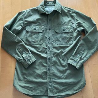 シンゾーン(Shinzone)のシンゾーン ミリタリーシャツ カーキ 36(ミリタリージャケット)