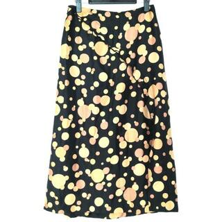 ヨウジヤマモト(Yohji Yamamoto)のヨウジヤマモト ロングスカート サイズ3 L(ロングスカート)