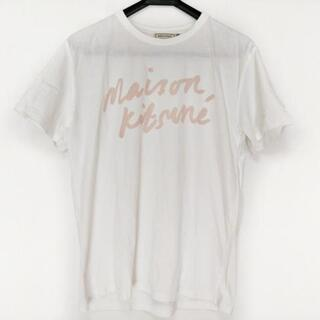 MAISON KITSUNE' - メゾンキツネ 半袖Tシャツ サイズL -