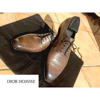 ディオールオム(DIOR HOMME)の【定価14万】Dior Homme ディオール  ダービーシューズ 26.5cm(ドレス/ビジネス)