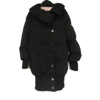 ダブルスタンダードクロージング(DOUBLE STANDARD CLOTHING)のダブルスタンダードクロージング - 黒(ダウンコート)