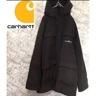 カーハート(carhartt)のCarhartt ダウンジャケット マウンテンパーカー 黒 (ダウンジャケット)