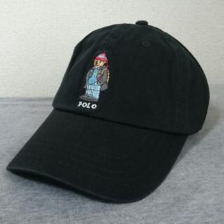 POLO RALPH LAUREN - 新品 ポロ・ラルフローレン ポロベアー(パッカー) 帽子 ブラック