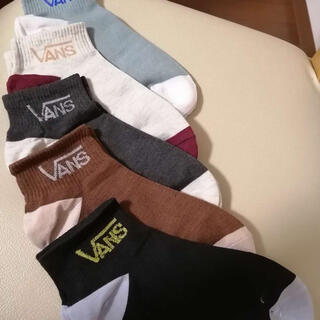 ヴァンズ(VANS)のVANS 靴下 5足入 ソックス メンズ バンズ socks(ソックス)